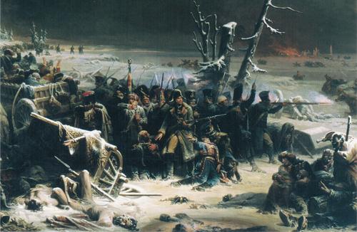 Маршал Ней, отступление из России