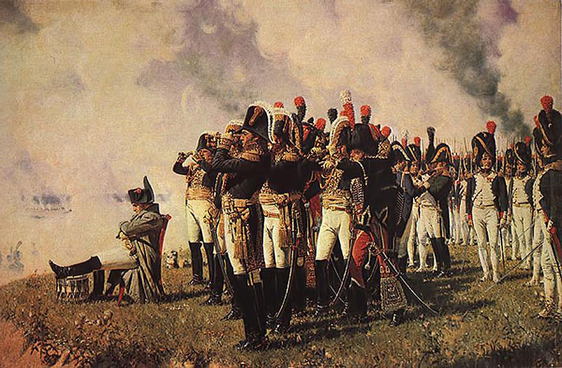 Отечественная война года Бородинское сражение итоги Наполеон на Бородинском поле