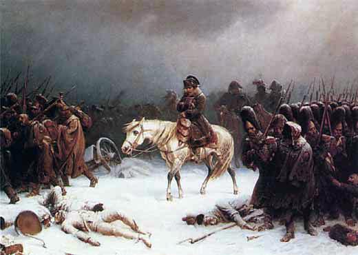 Картинки по запросу отступление французской армии 1812